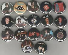 DURAN DURAN 1983-85 Pinback Buttons Pins Badges 17 Different