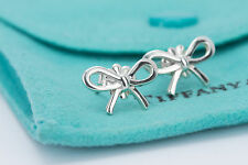 Tiffany & Co. Mini Ribbon Bow Earrings