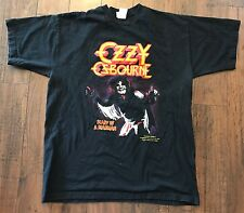 Vintage Ozzy Osbourne Diary Of A Madman T Shirt Sz XL Limited Edition Rare 90s