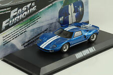 FORD GT 40 Mk I Fast & and Furious 1:43 Greenlight