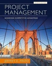 NEW Project Management:Achieving Competive Advantage 4th (Global Edition)