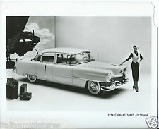 Cadillac Series 62 Sedan 1954 Original Old Press Photograph 1950 Fashion