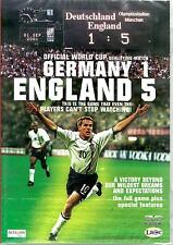 GERMANY 1 ENGLAND 5 -THE GAME CAN'T STOP WATCHING - BRAND NEW DVD - FREE UK POST