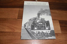 FdE KALENDER 1977 -- Europäischer Eisenbahn-Kalender // mit 52 S/W-Fotos