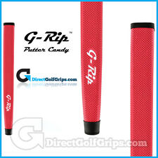 Feeltec G-Rip Big Wave Midsize Pistol Putter Grip - Red + Tape