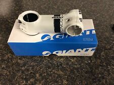 "GIANT Contact OD2 Stem 90mm OverDrive 2 white/black Compatible 1-1/4"" or 1-1/8"""