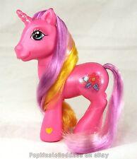MLP My Little Pony Ponies G3 unicorn glitter pink Garden Wishes