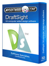 DraftSight 2015 2D CAD - Uses AutoCAD DWG File - Computer Aided Design Software