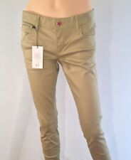 ARMANI EXCHANGE Women's Beige Skinny Jeans Uk 6/ US 2 Rrp $118  Leg 29 Bnwt ^10