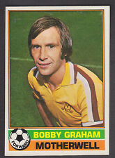 Topps - Footballers Scottish 1977 - # 62 Bobby Graham - Motherwell