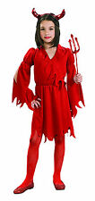 Devil Girl Halloween Costume Red Dress Size Small 4-6