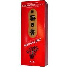 Morning Star Sandalwood Incense 200 Sticks & Holder S-1665