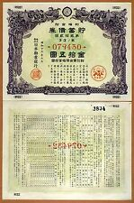 China, Rare Old Bond, aUNC