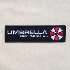 UMBRELLA CORPORATION RESIDENT EVIL EMBROIDERY IRON ON PATCH BADGE