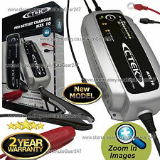 NEW CTEK MXS 10 12v Car Van Smart 8 Stage Automatic Maintenance Battery Charger
