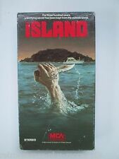 The Island (VHS, 1987) Rare Hard To Find (NTSC) Michael Caine, David Warner