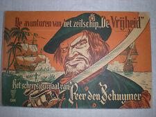 """Rare Comic Book: De avonturen van het zeilschip """"De Vrijheid"""" Het pinguinland va"""