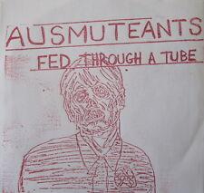 """AUSMUTEANTS 7"""" FED THROUGH A TUBE DEVO SCREAMERS X TOTAL CONTROL EDDY CURRENT OI"""