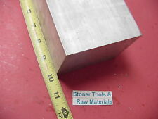 "3"" X 3-1/2"" ALUMINUM 6061 FLAT BAR 10"" LONG SOLID T6511 3.00"" Plate Mill Stock"