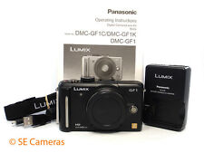 PANASONIC LUMIX GF1 CAMERA BODY ONLY NEAR MINT CONDITION