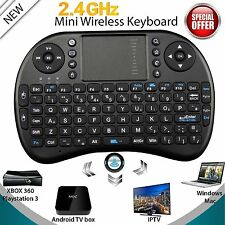 Mini Wireless Keyboard 2.4G with Touchpad Handheld Keyboard for PC Android TV QT