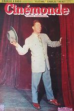CINEMA CHARLES TRENET JEAN GABIN STARS EN VOITURES  N° 864 CINEMONDE 1951