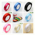 25 Yards Satin Ribbon Wedding Party Favor Craft Sewing Decorations width 20mm