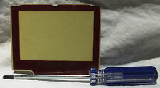 Game Boy Advance SP Famicom (GBA SP)  Screen Protector (Lens) +Triwing Driver