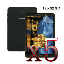 """GH 5Pcs LCD Film Screen Protector For 9.7"""" Samsung Galaxy Tab S2 SM-T810 Tablet"""