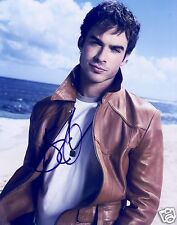 IAN SOMERHALDER AUTOGRAPH SIGNED PP PHOTO POSTER