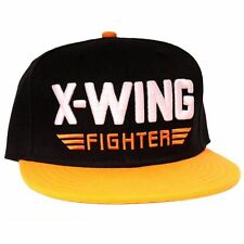OFFICIAL STAR WARS THE FORCE AWAKENS X-WING FIGHTER SNAPBACK CAP HAT *NEW*
