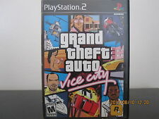 Grand Theft Auto: Vice City  (Sony PlayStation 2, 2002) *Tested*