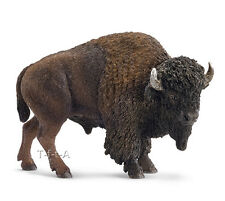 FREE SHIPPING | Schleich 14714 American Buffalo Bison Bull - New in Package