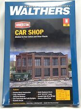 N Scale Car Shop Structure Kit - Walthers #933-3228