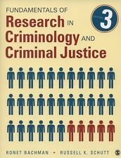 Fundamentals of Research in Criminology and Criminal Justice by Ronet D....