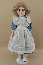 """18"""" antique bisque head composition German Hch Dolly Face doll for """"TLC"""""""