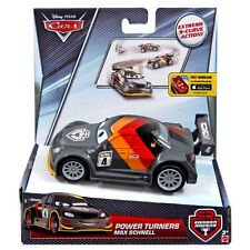 Disney Pixar Cars 1:43 Scale Power Turners MAX SCHNELL Pullback Vehicle (DHN03)