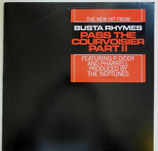 """12"""" US**BUSTA RHYMES - PASS THE COURVOISIER PART II (J RECORDS '02)***17365"""