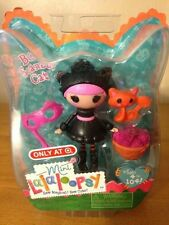 NEW MINI LALALOOPSY BOO SCAREDY CAT DOLL TARGET EXCLUSIVE HALLOWEEN