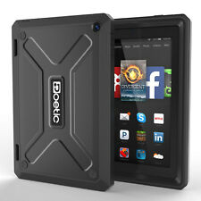 Poetic Revolution Dual Layer Hybrid TPU Case for Amazon Fire HD 7 4th Gen BLK