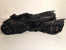BATMAN ARKHAM KNIGHT BATMOBILE Scala 1:18 HotWheels Elite bly23 NUOVO
