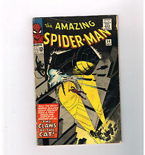 AMAZING SPIDER-MAN (v1) #30 Fantastic Silver Age find! 1st appearance of The Cat