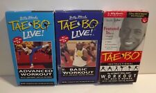 TAE BO LIVE_ BASIC & ADVANCED WORKOUT VHS 3 CT_BILLY BLANK'S EXERCISE FITNESS