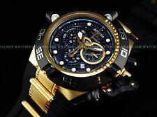 Invicta Men's Subaqua Noma IV Swiss Made Chrono 18K Gold Plated Poly Strap Watch