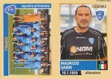 N°659 TEAM PRIMAVERA - SARRI # EMPOLI.FC ITALIA CALCIATORI 2014 PANINI STICKER