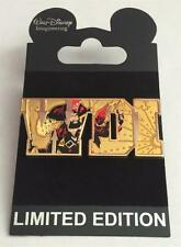 Disney WDI Pirates of the Caribbean Attraction Letters LE 300 Cast Exclusive Pin