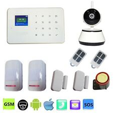 Wireless Voice GSM Alarm System with Alarme WIFI Video IP Camera Home Security