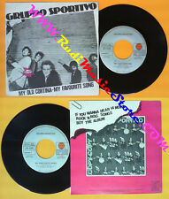 LP 45 7'' GRUPPO SPORTIVO My old cortina My favourite song 1981 no cd mc dvd