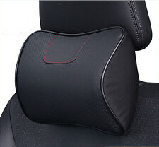 FOR Kia Sportage 2016 2017 Ergonomic Genuine Leather Auto Car Headrest Pillows