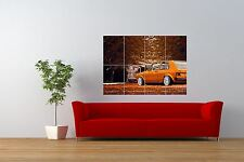 PHOTO TRANSPORT AUTOMOBILE CAR CLASSIC VW GOLF MK ONE GIANT PRINT POSTER NOR1021